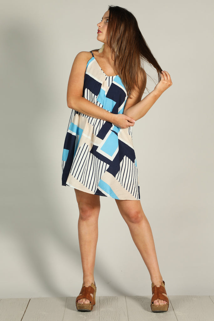 Could You Forget - Abstract Dress - Ty Alexander's