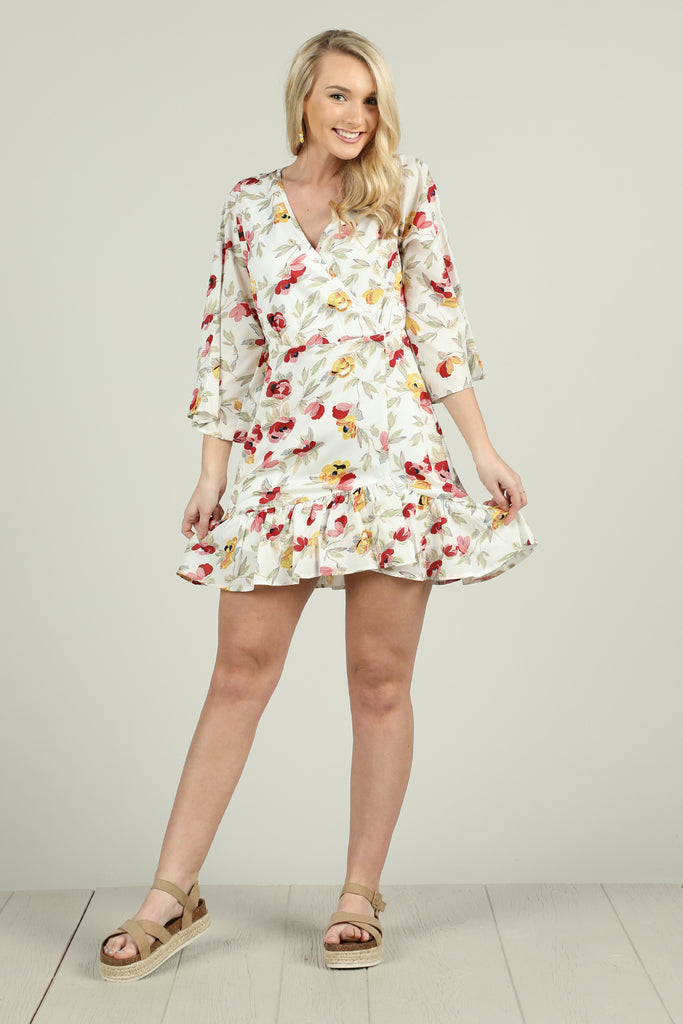 Gone Girl - Floral Dress