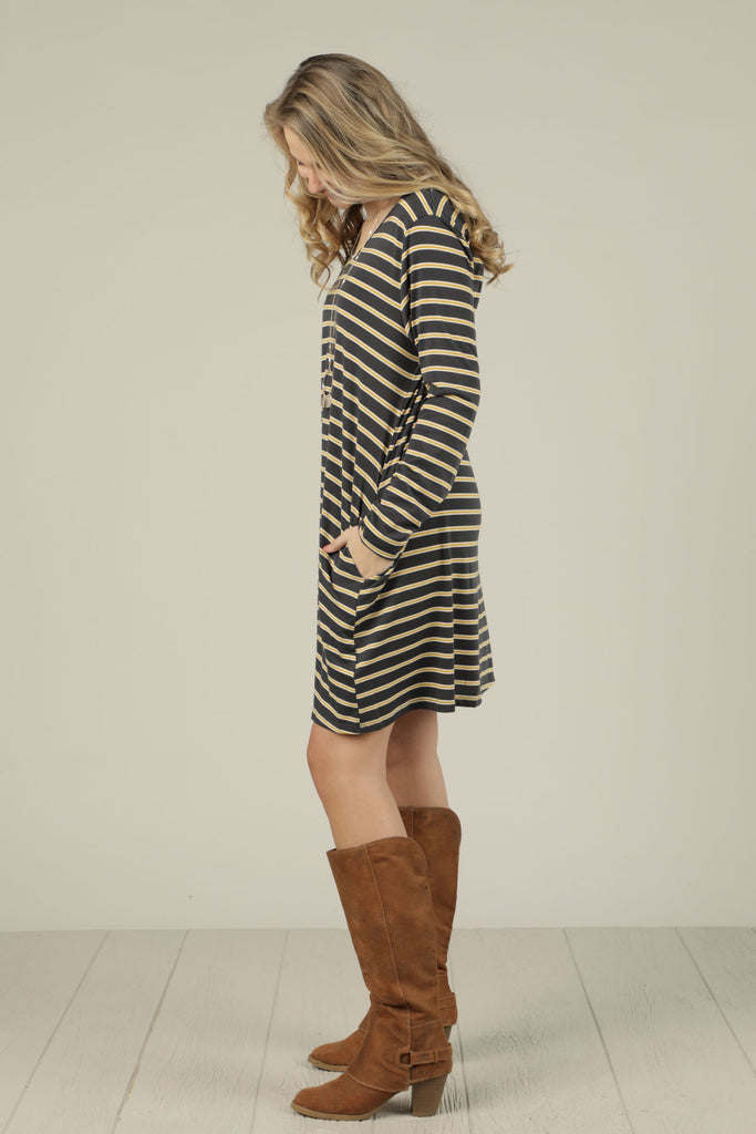 All The Stripes Dress - Ty Alexander's
