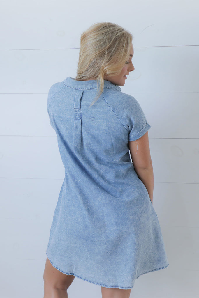 Dixie Girl - Denim Dress
