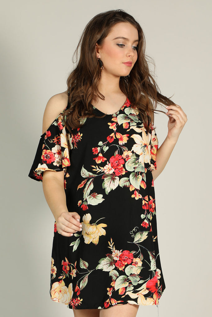 Just A Dream - Open Shoulder Dress - Ty Alexander's