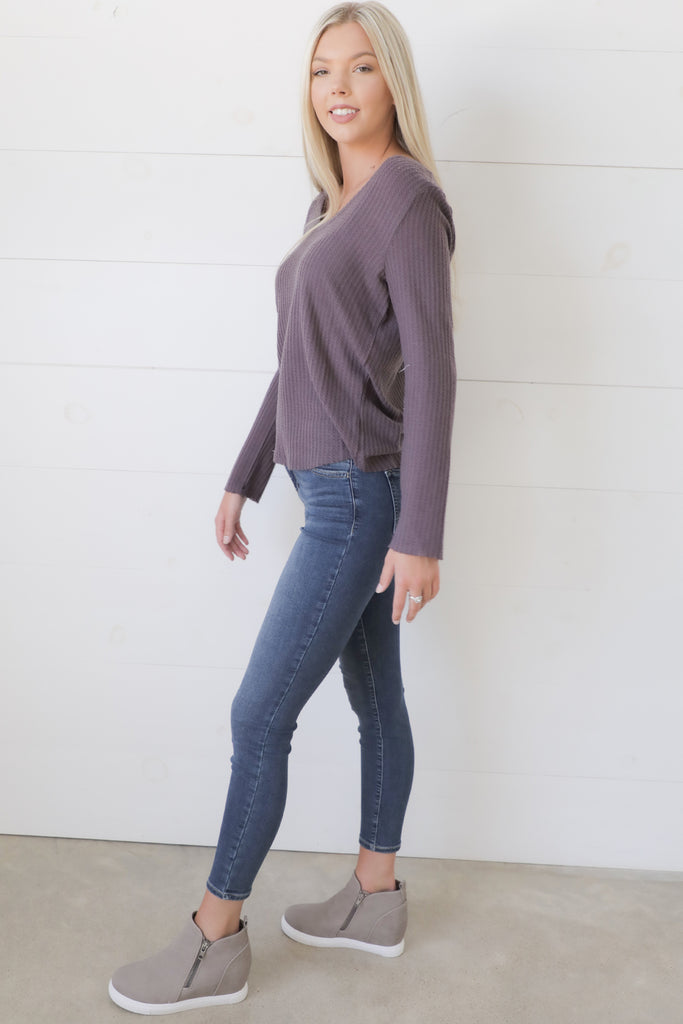 Nights At The Vineyard Long Sleeve Top - Ty Alexander's Top Collection