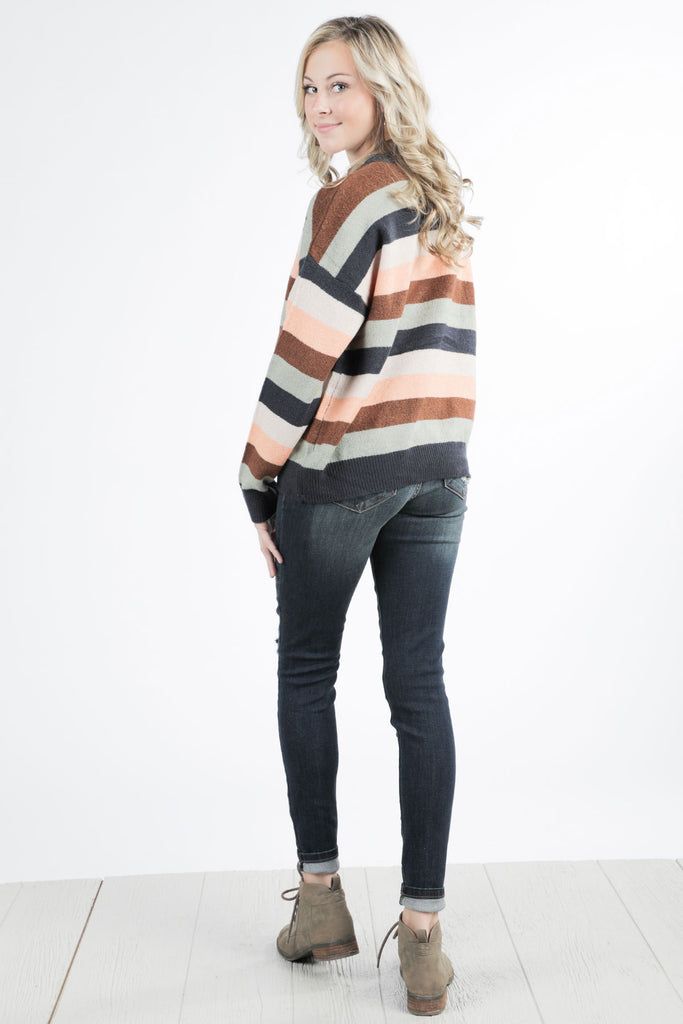 Stripes on Stripes Sweater - Ty Alexander's