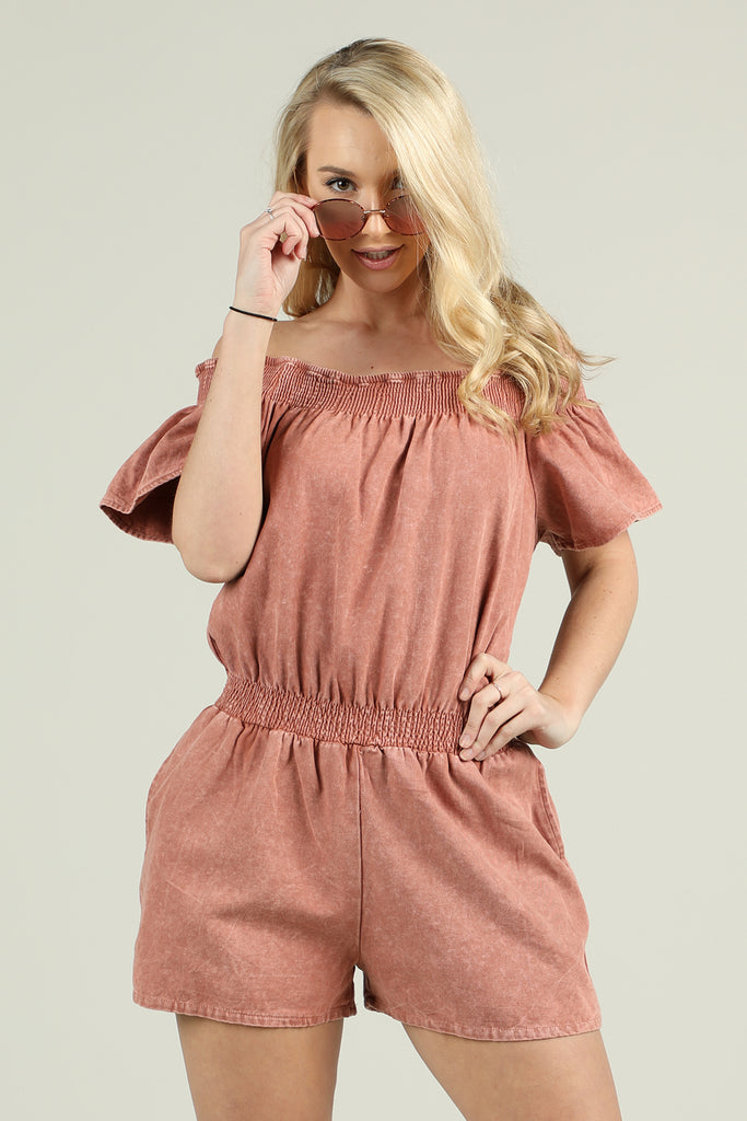 Blushing Heart Romper