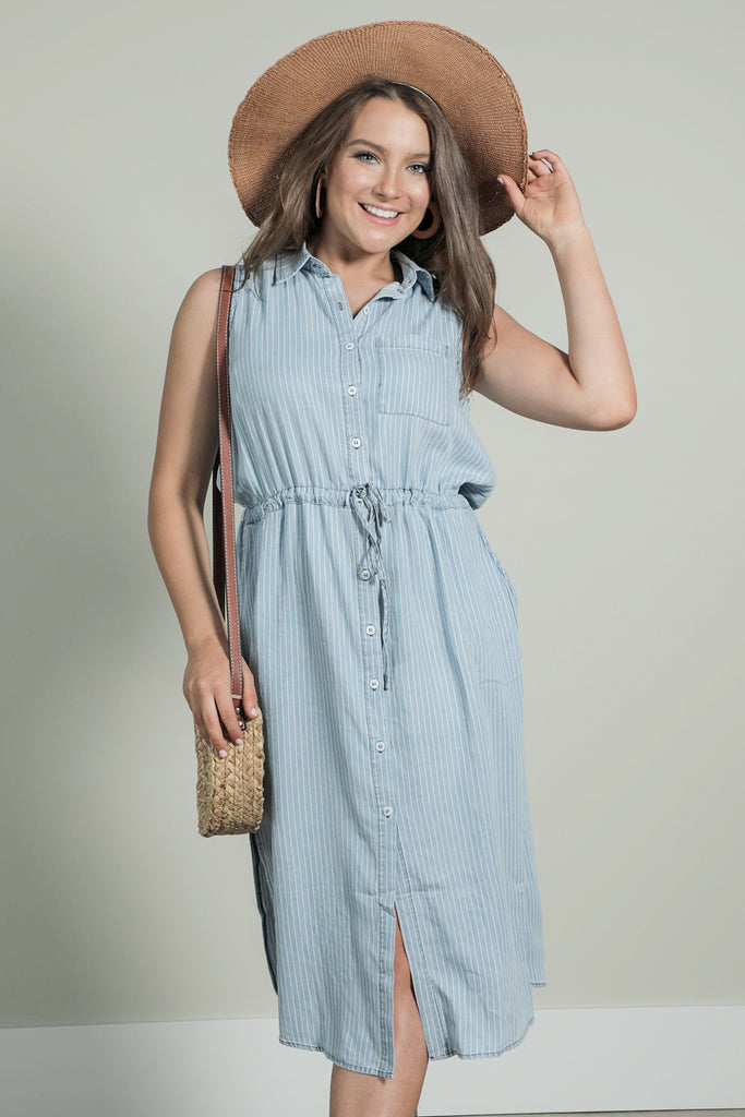 Barefoot Blue Jean Night- Dress