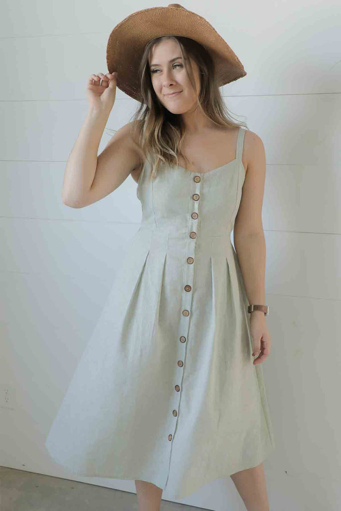 Sweetheart Dress - Button Down Dress  - Ty Alexander's