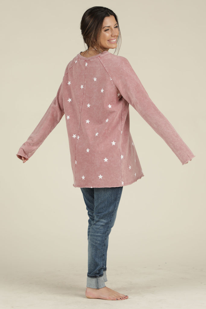 Reach for the Stars- French Terry Sweatshirt - Ty Alexander's