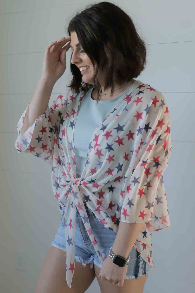 Red White and You - Kimono - Ty Alexander's