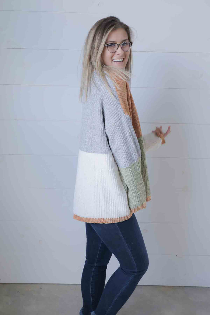 Stepping Stone Boxy Sweater - Ty Alexander's