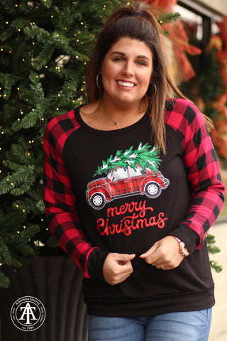 Merry Christmas - Car Top  - Ty Alexander's