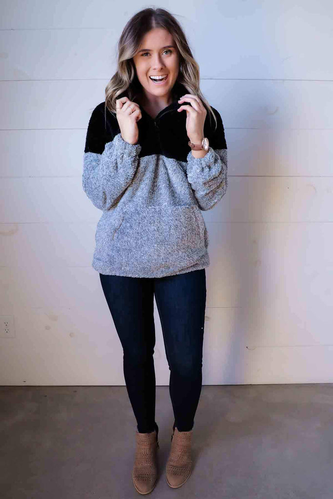 She Looks So Perfect Pullover- Ty Alexander's