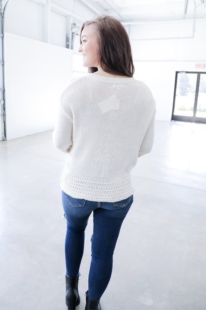 Willow Sage Sweater