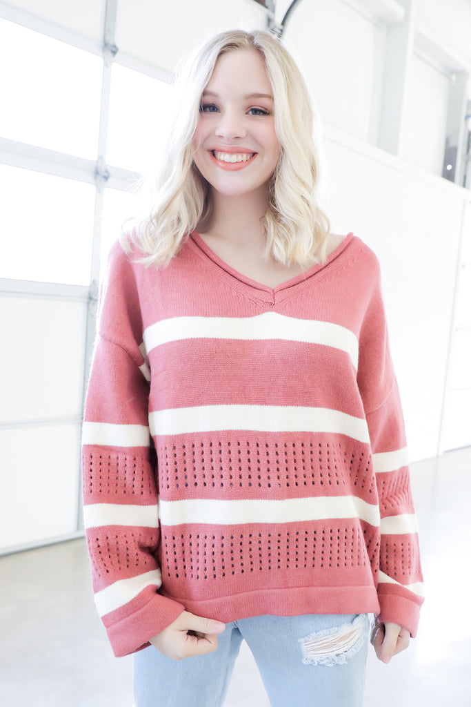 Rose All Day Sweater