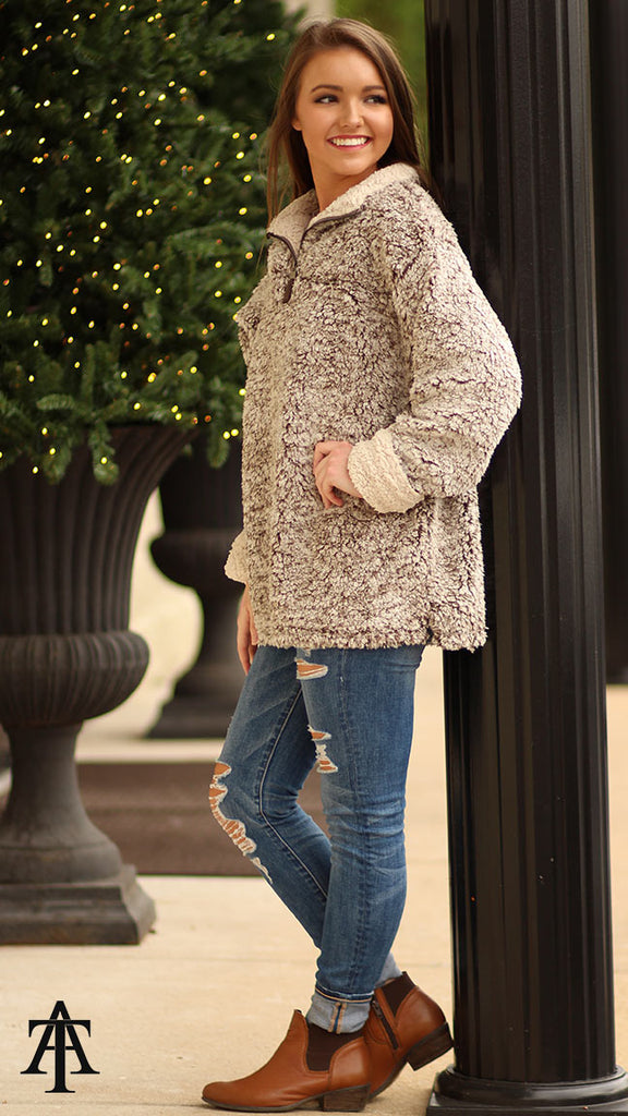 Sherpa Pullover - $39.99