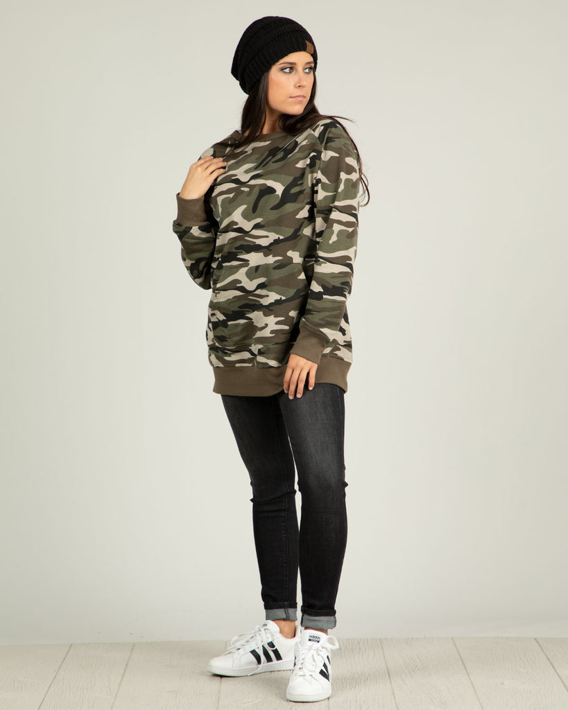 Zip It - Camo Sweatshirt - Ty Alexander's