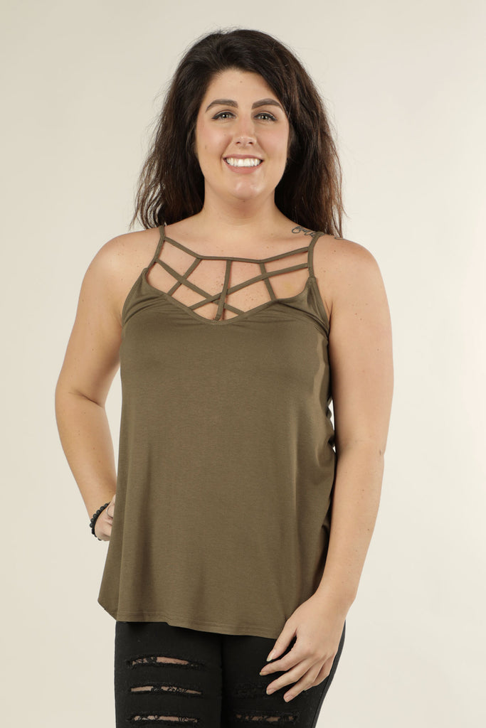 Essential - Strappy Tank - Ty Alexander's