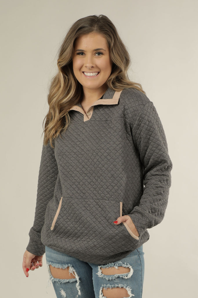 Quilted - Pullover- Ty Alexander's