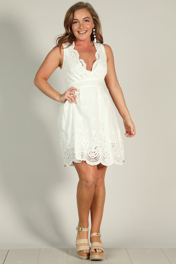 Fresh Cut - Lace Dress