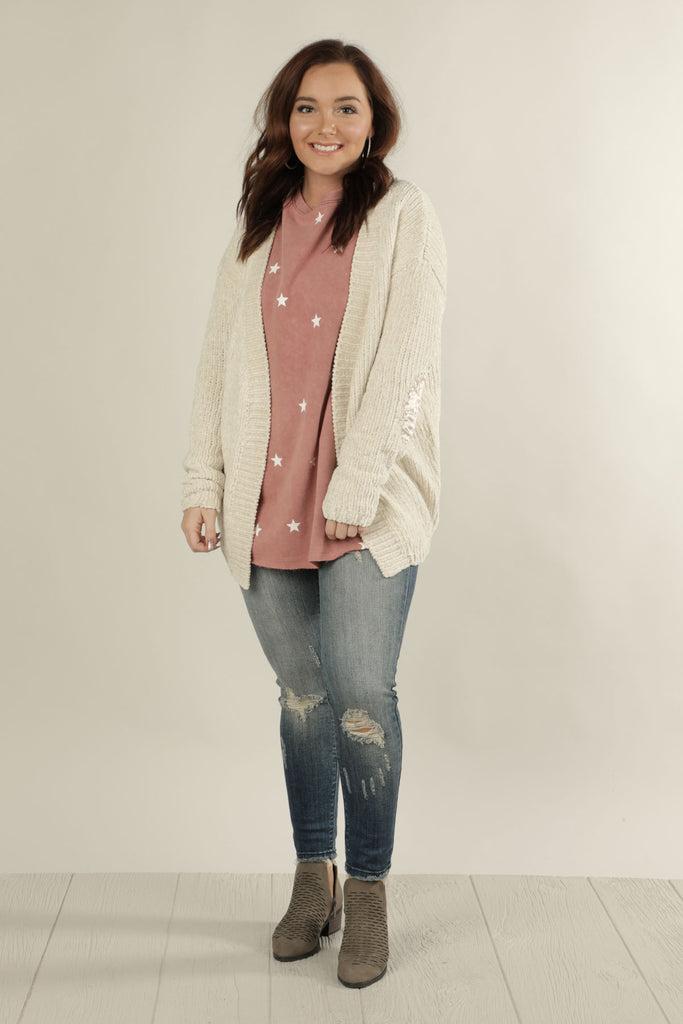 Counting Sheep - So Soft Cardigan - Ty Alexander's