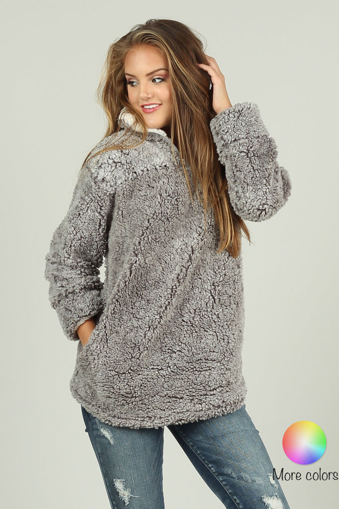Pullover jacket with Pockets - Ty Alexander's