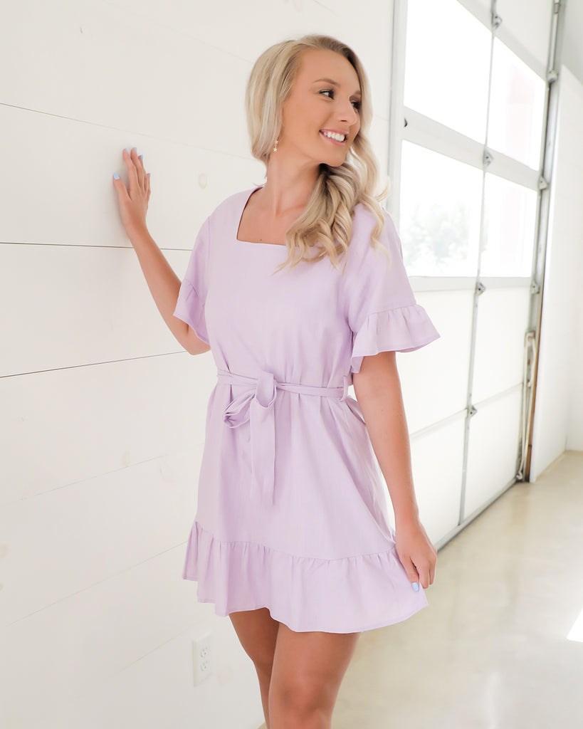 Living Lavender Dress