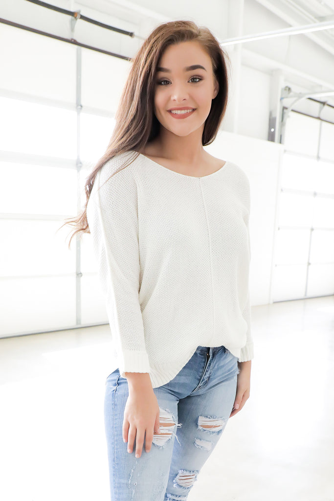 So Simple Sweater