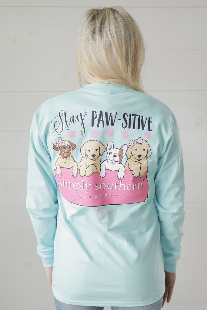 Pawsitive Simply Southern Tee - Ty Alexander's