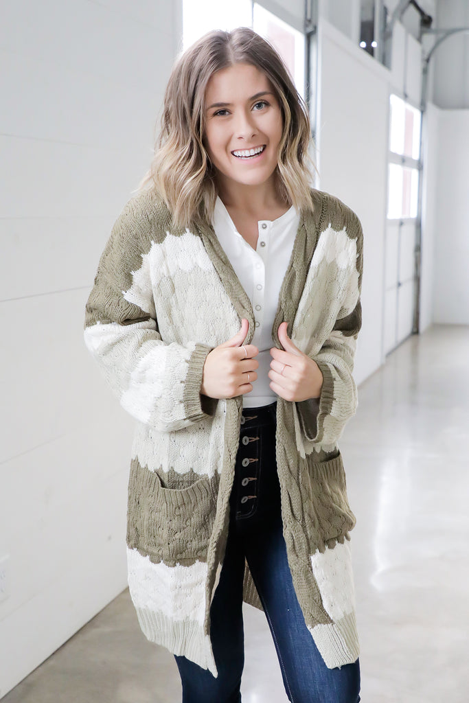 Love, Olive Cardigan - Ty Alexander's