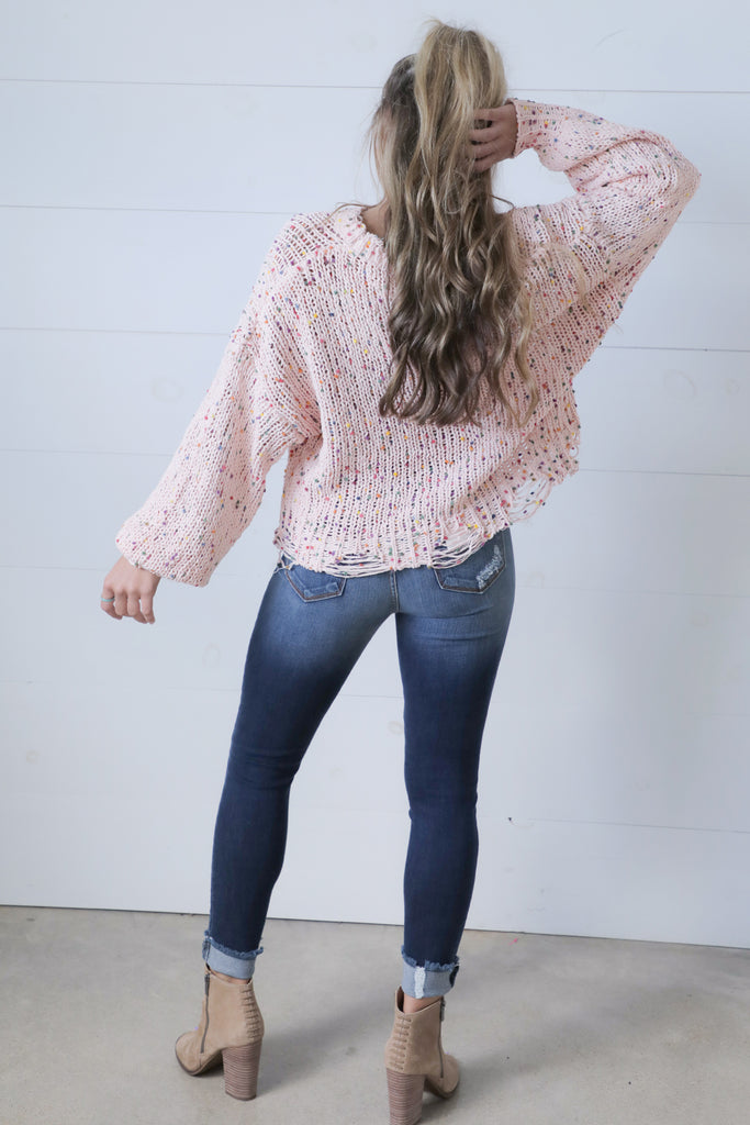 Love Me Endessly Confetti Sweater - Ty Alexander's Sweater Collection