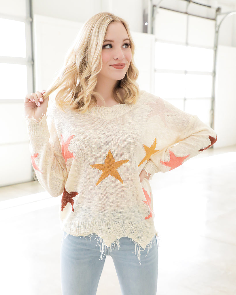 Stars Above Sweater
