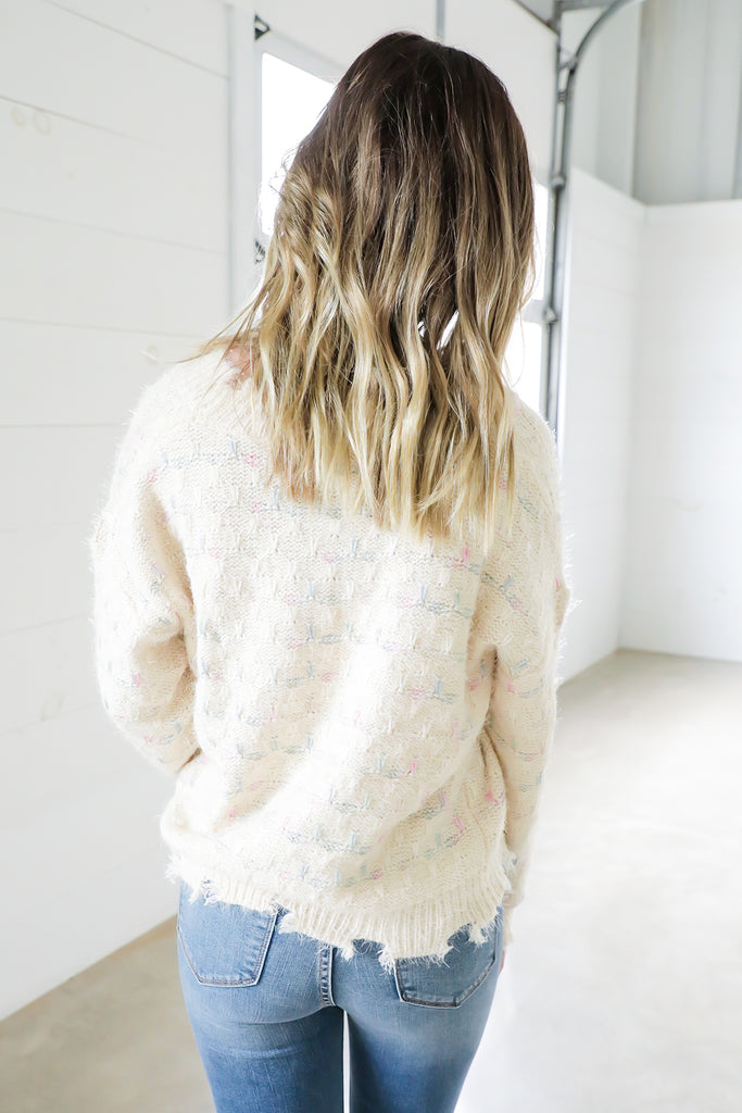 Burst of Color Sweater