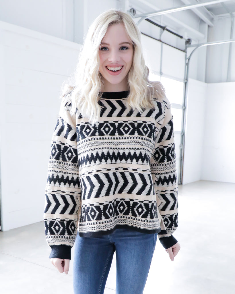 Vintage Tribal Sweater