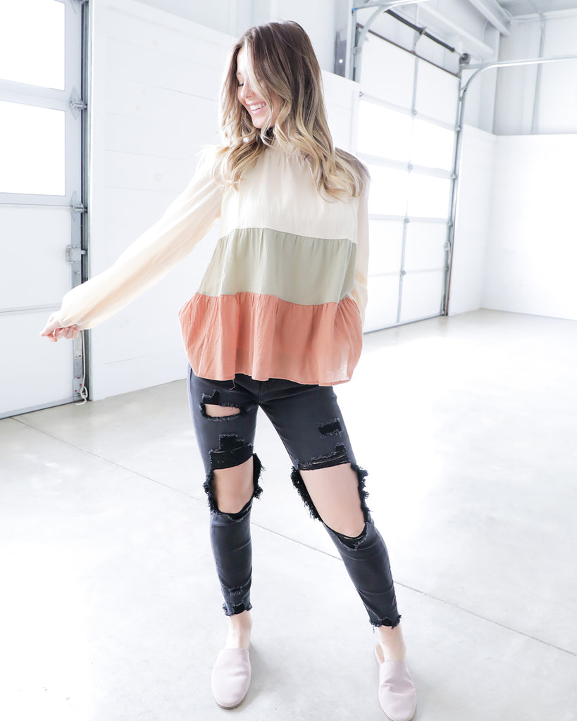 Fall Ombre Top