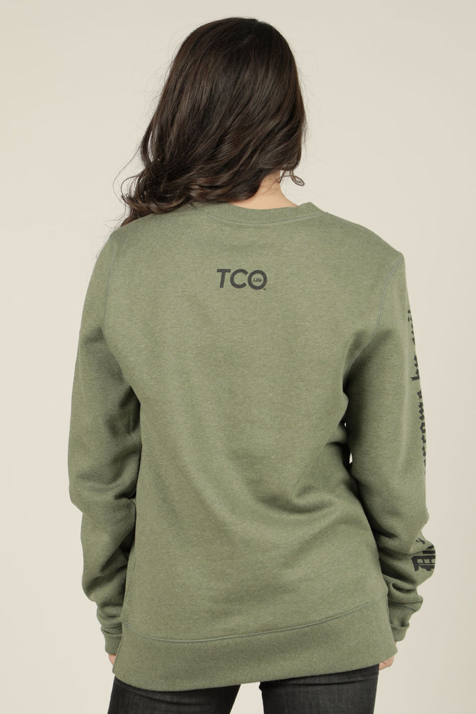 Overcome Evil with Good  Sweatshirt - TCO LIFE