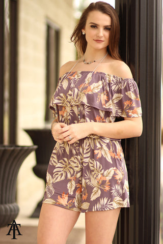 Ty Alexander's - Tropical Romper