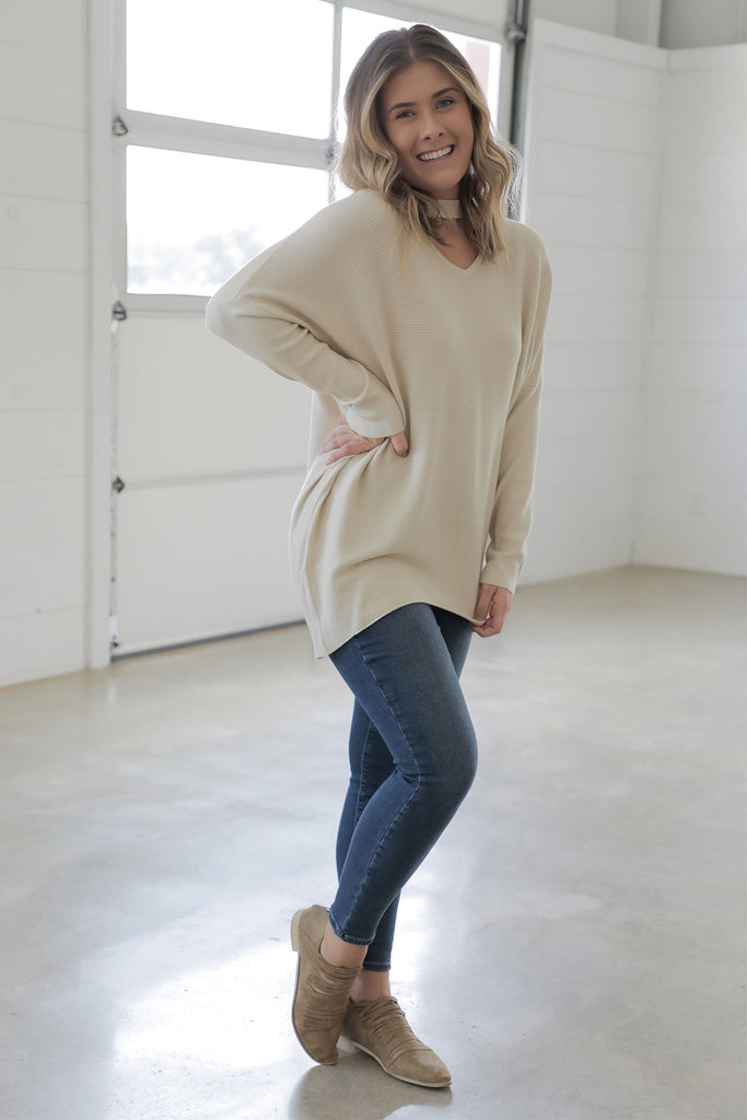 Keyhole Sweater - Ty Alexander's