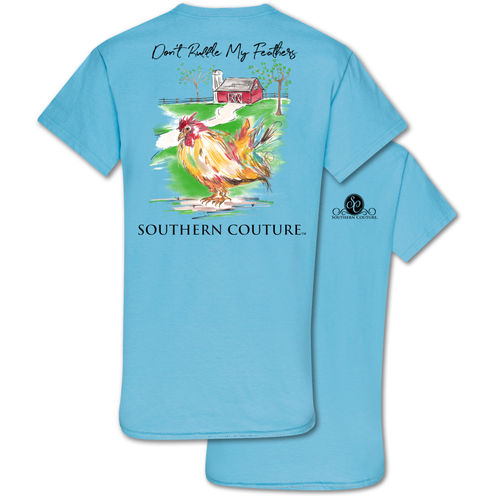 Southern Couture Feathers Tee