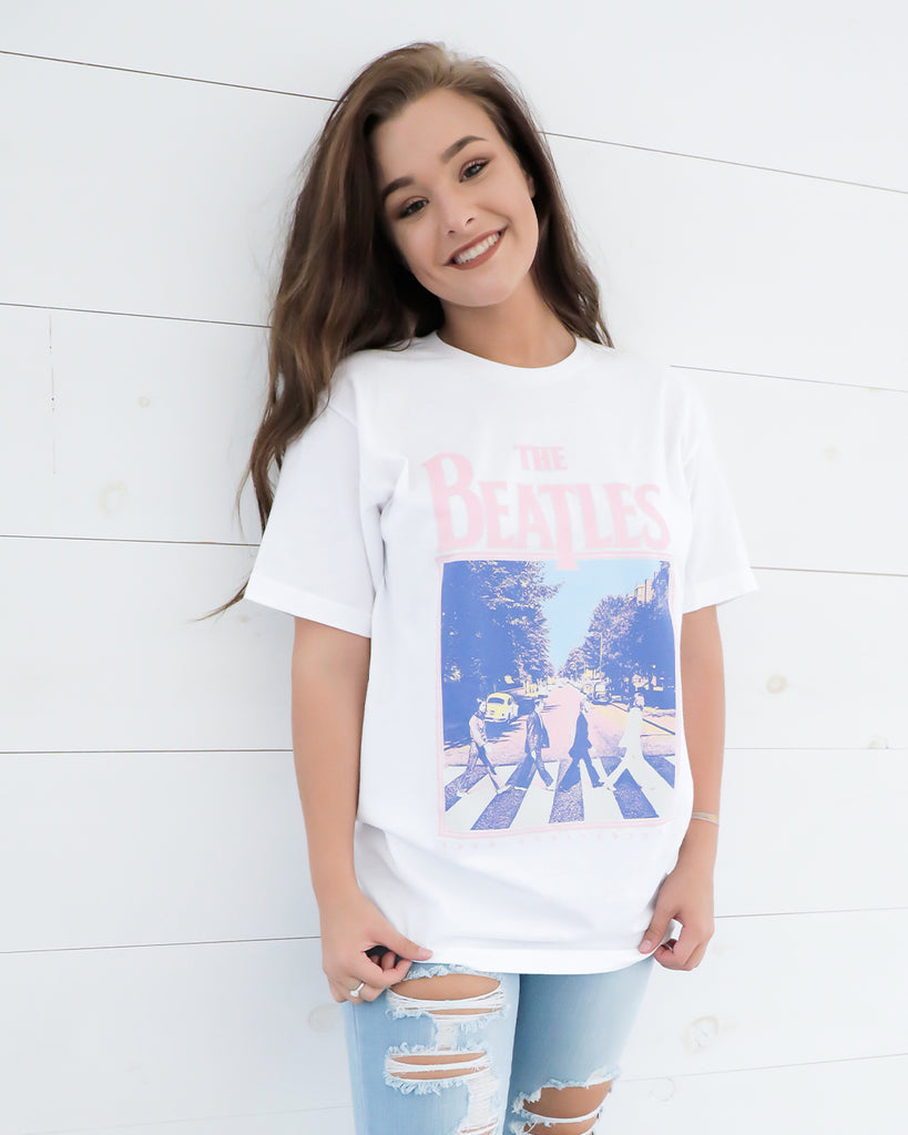 Beatles 50th Abbey Road Tee