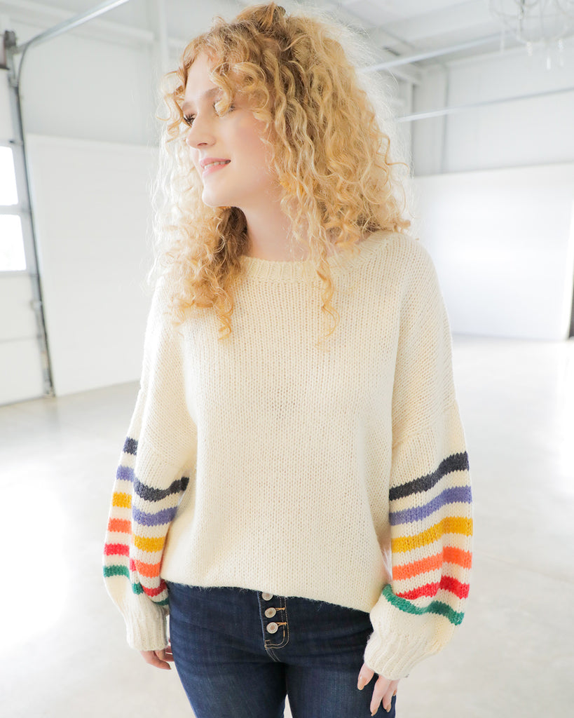 Over the Rainbow Sweater - Ty Alexander's
