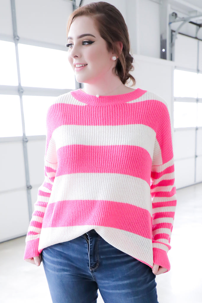 Neon Light Sweater