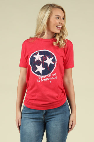 Tennessee Pride - Tennessee Tri-Star Tee