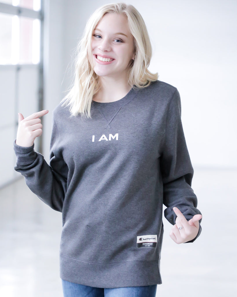 I AM Sweatshirt- TCO Life