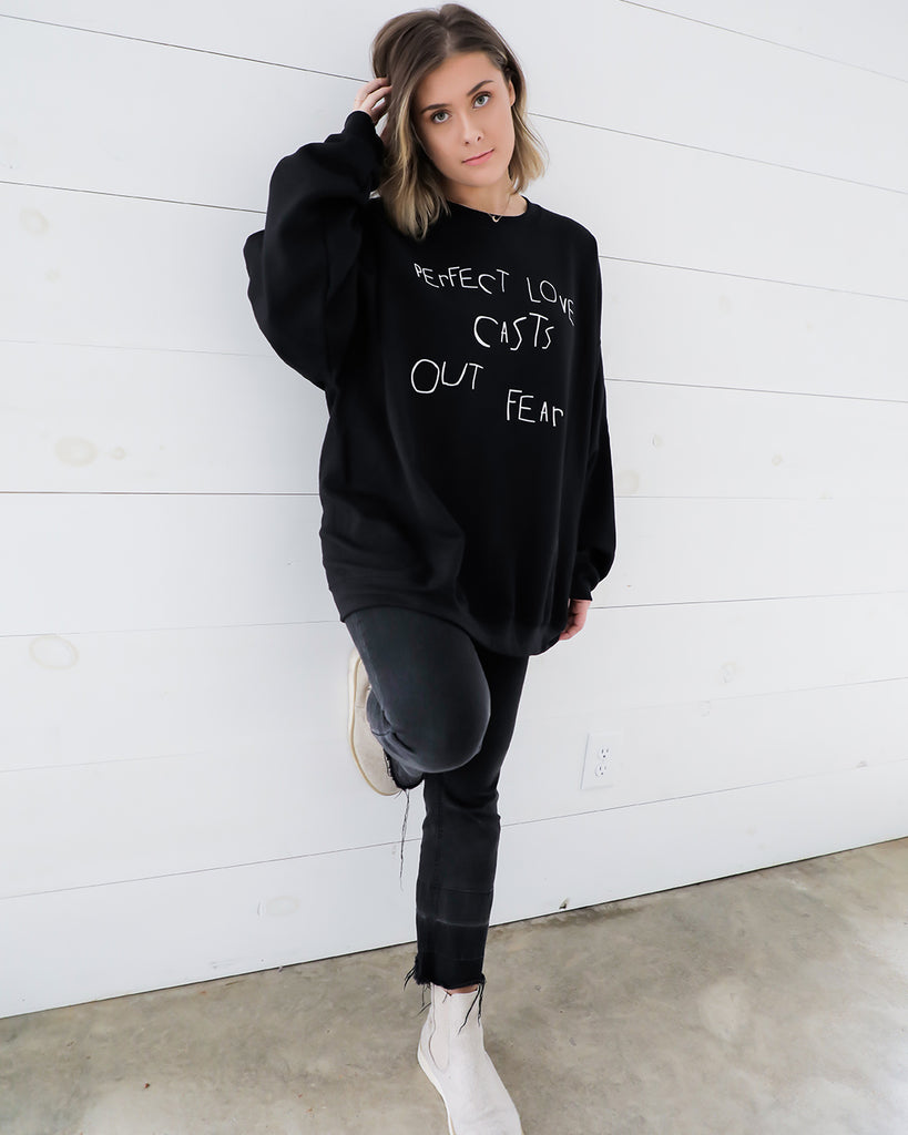 Perfect Love Sweatshirt- Ty Alexander's