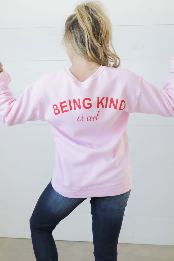 Being Kind Is Cool TCO Brand Sweatshirt - TCO LIFE BRAND