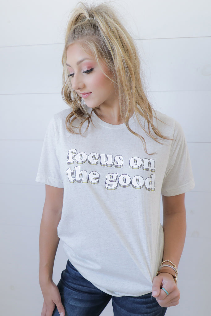 Focus On The Good TCO Life Tee - Ty Alexander's Tee Collection