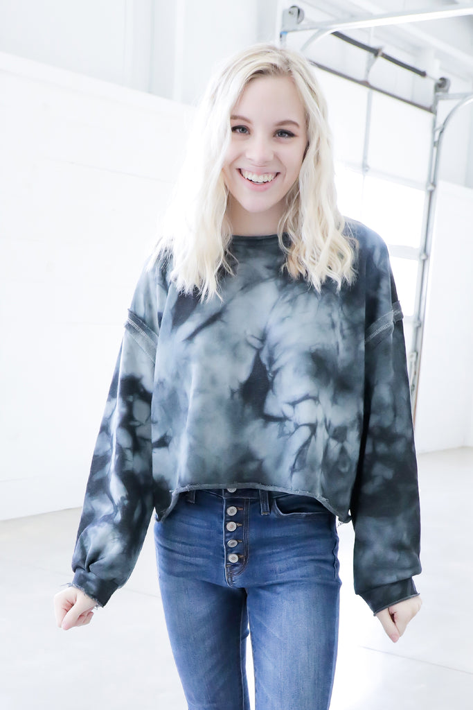 Galaxy Black Sweater