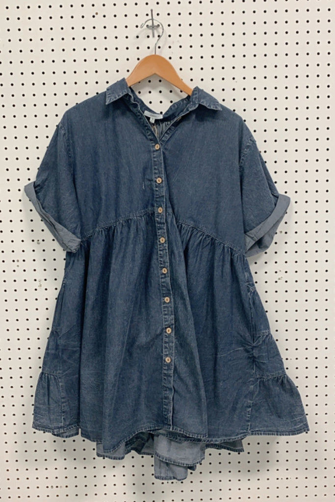 Dark Denim Dress