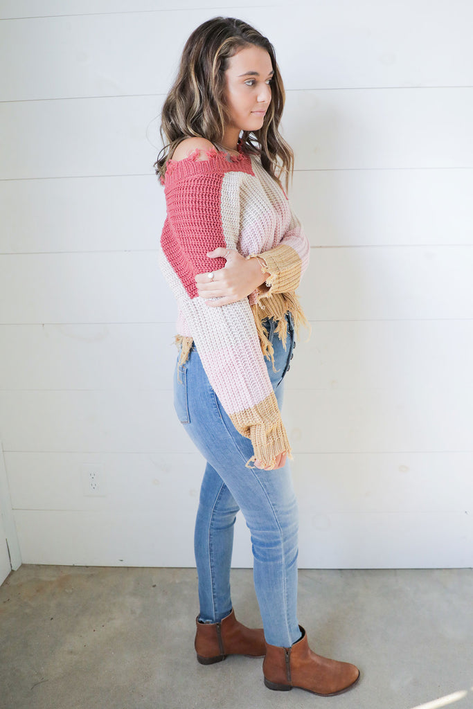 Romantic Getaway Sweater - Ty Alexander's