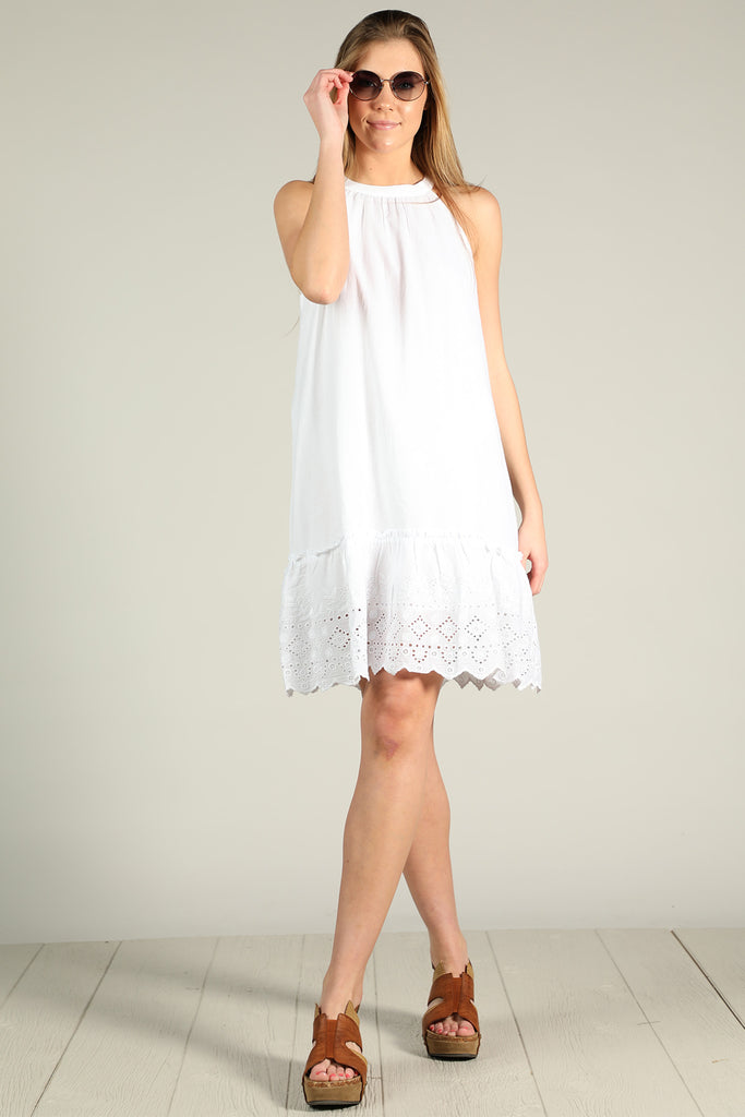 The Hatter - Lace Trimmed Dress - Ty Alexander's