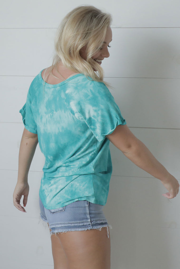 Ocean Wide - Tie Dye Top